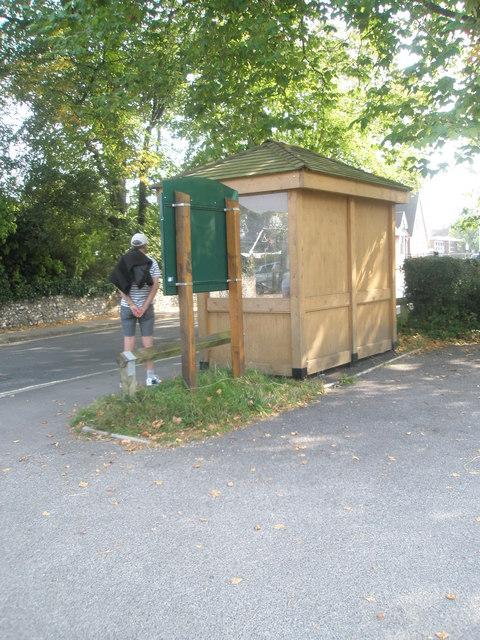Splendid bus shelter in Church Road