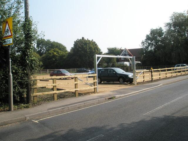 Car park in Church Road