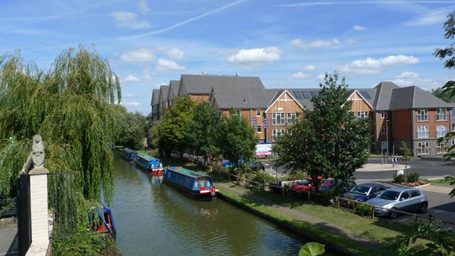 Grand Union Canal at Fenny Stratford