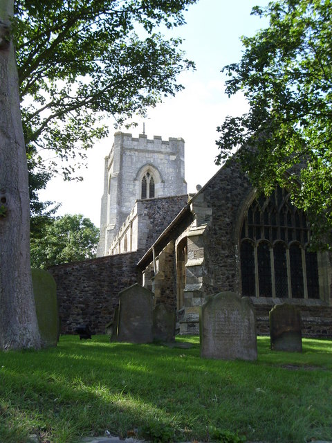 All Saints, Easington
