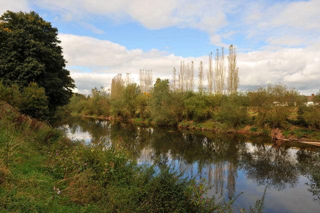 River Scene Near Llanbadoc