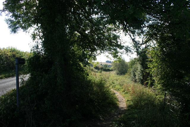 Footpath to Burford