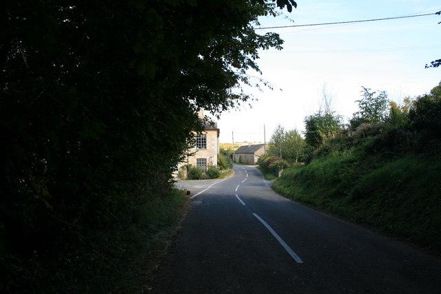 Road through Widford