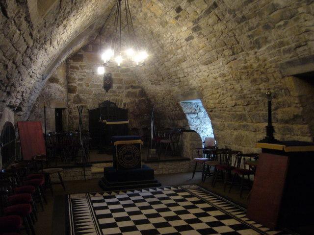 King's Cellar, upper chamber