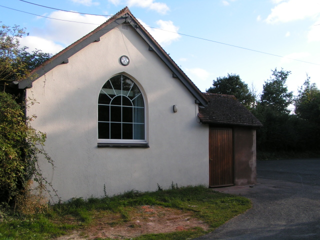Farringdon Church Hall and car park