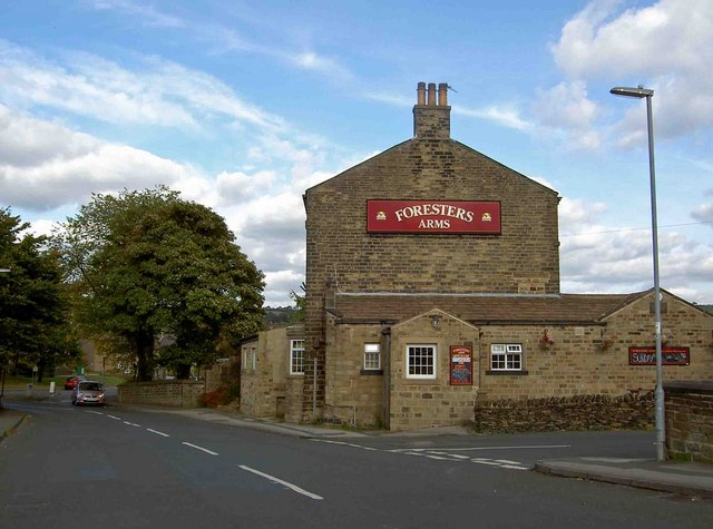 The Foresters Arms public house