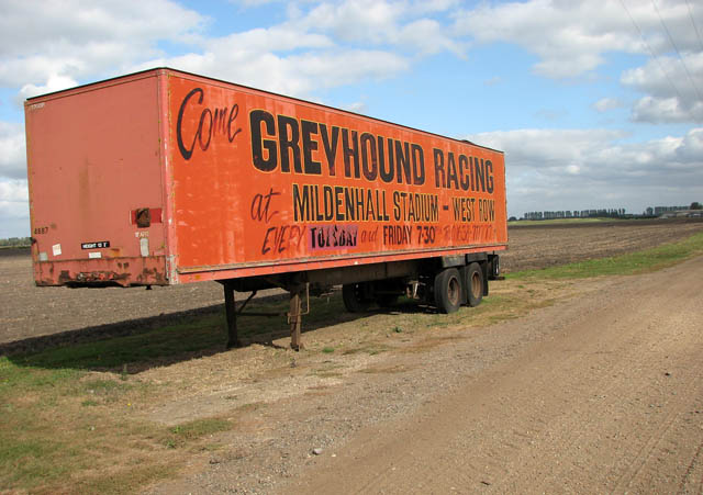 Lorry trailer / advertising board