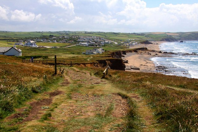 The South-West Coast Path on Sheephouse Down