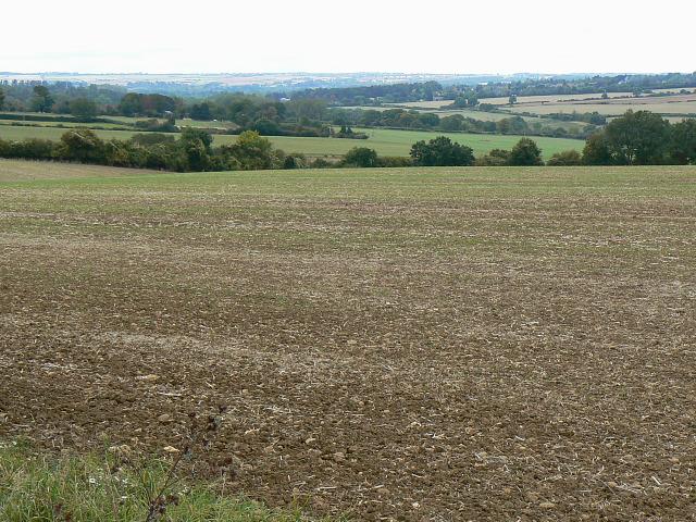 Farmland east of Finstock