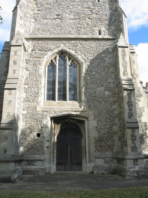 West Door, All Saints Church at Marsworth