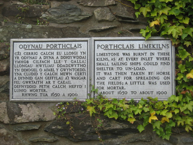 A brief history of lime kilns in two languages