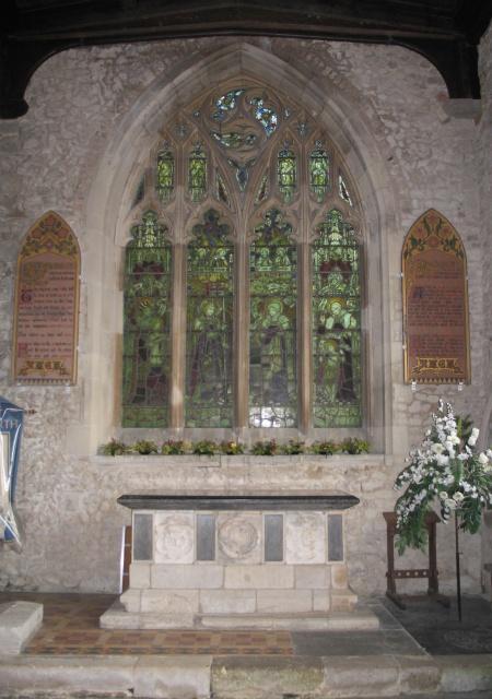 South Chapel, All Saints Church at Marsworth