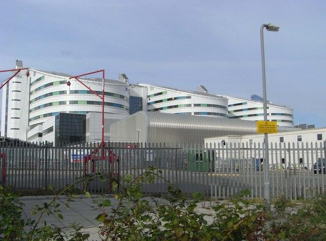 "University Hospital Birmingham - ""super hospital"""