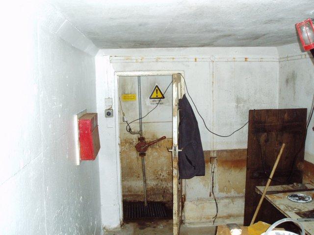 Inside a nuclear bunker