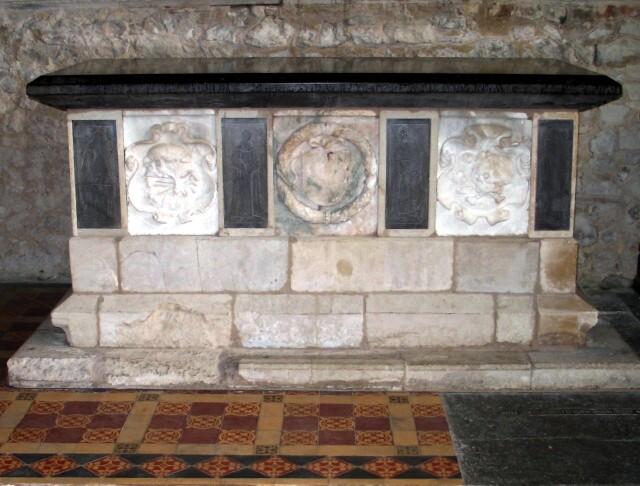 Tomb of Edmund West, All Saints Church at Marsworth
