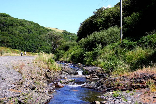 The River Valency in Boscastle