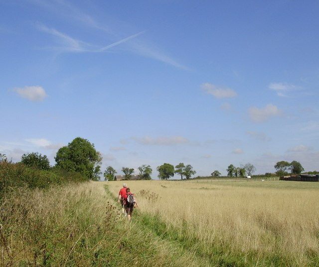 Bridleway north of the A14