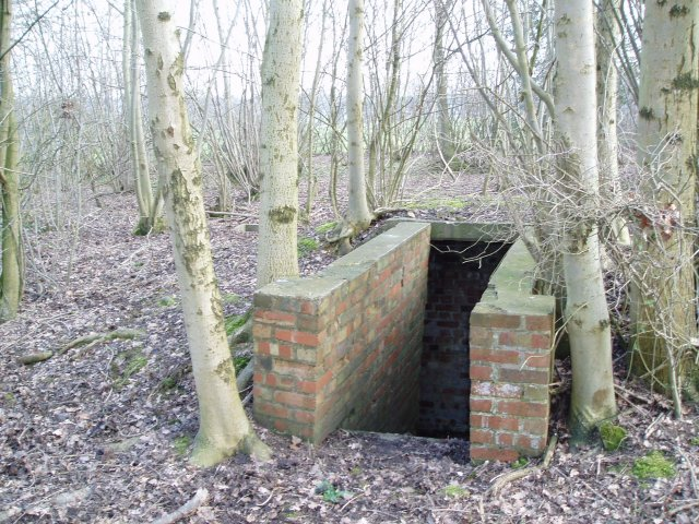 World War 2 air raid bunker