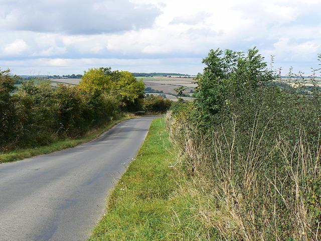 Minor road to the B4437, near Ascott-under-Wychwood