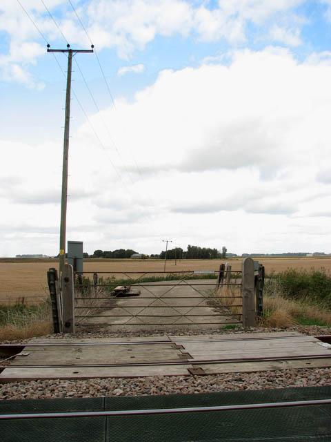 View across Bedfords UW crossing number 151