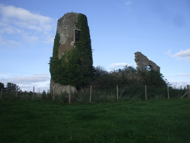 Ruins of windmill, St y Nyll