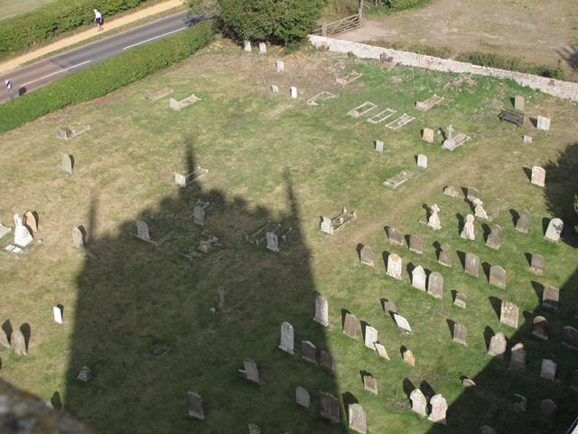Part of the Churchyard of St Nicholas Blakeney