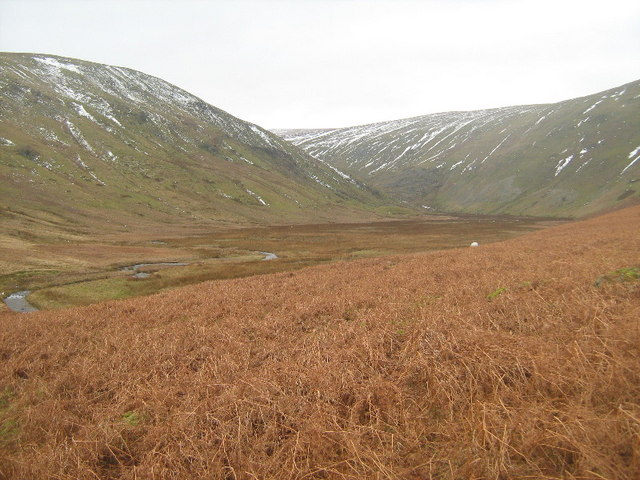 Looking towards Fordingdale Bottom