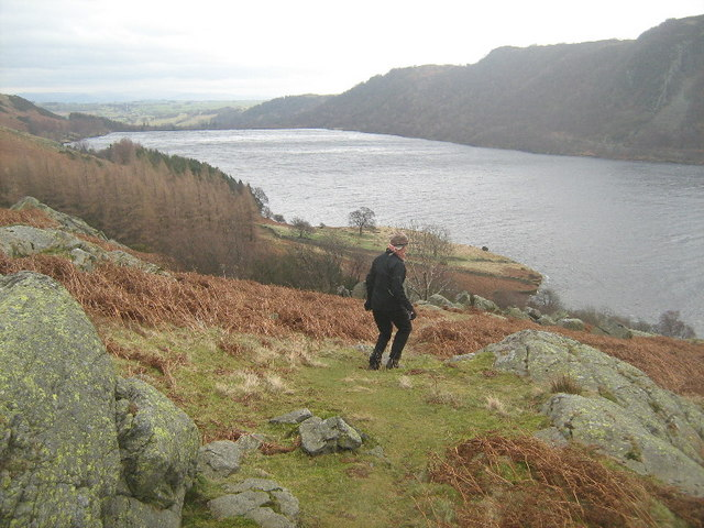 The path down to Haweswater