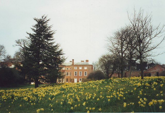 Claydon House in Spring, Buckinghamshire