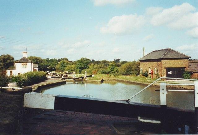 Three Locks near Stoke Hammond, Bucks.