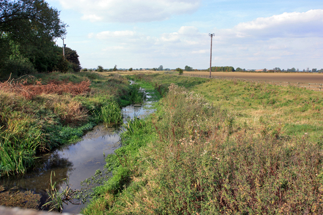 Catchwater Drain - northwards