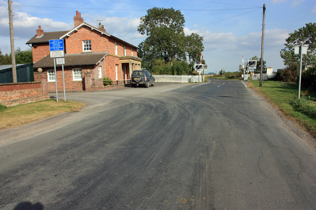 Station Farm and the Level Crossing