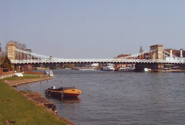 Bridge over the Thames at Marlow