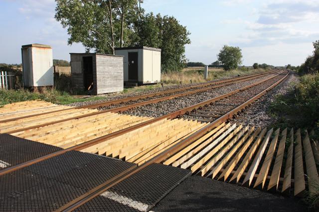 Railway line to Beverley