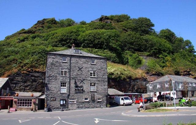The Cobweb Inn in Boscastle