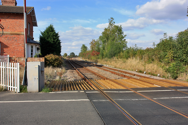 Railway line to Driffield