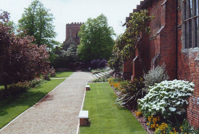 Gardens at Layer Marney, Essex