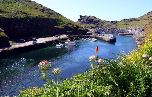 The harbour at Boscastle