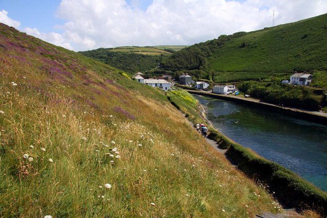 The South-West Coast Path at Boscastle