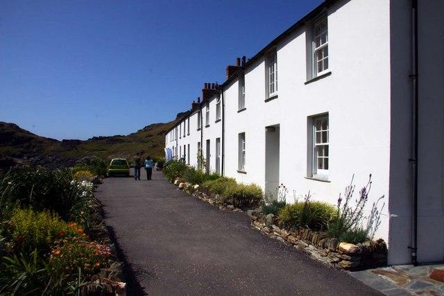 Penally Terrace at Boscastle