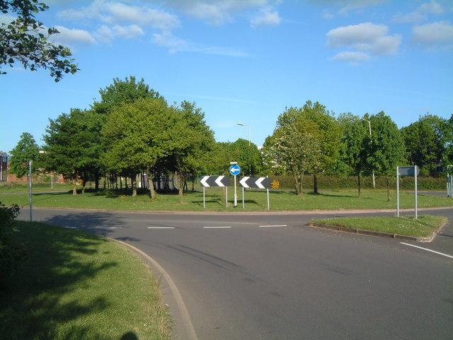 Traffic Island between Sandy Way and Mercian Way (1)