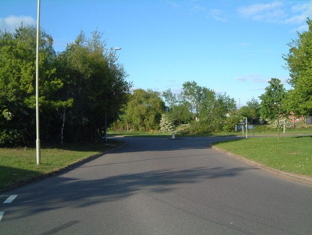 Traffic Island between Sandy Way and Mercian Way (2)