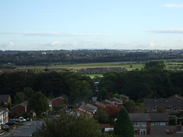 Childwall Valley from Gateacre Comprehensive School