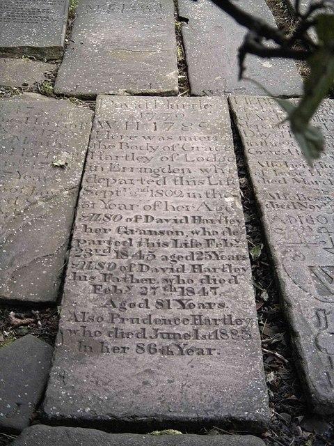 'King' David Hartleys grave
