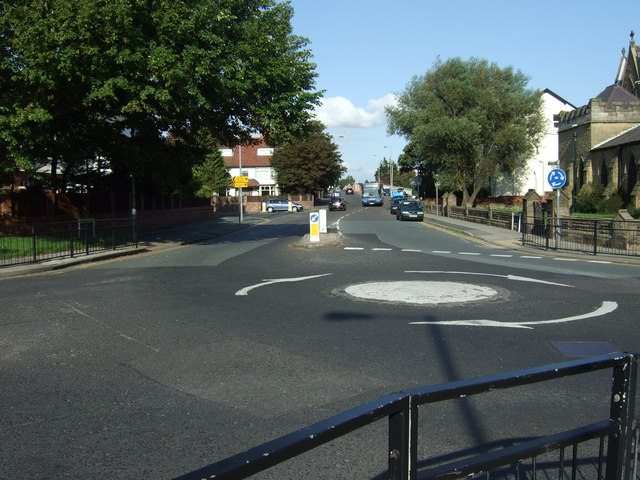 Roundabout, Blundellsands.