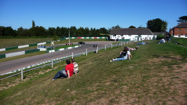 Mallory Park - Shaws Hairpin.