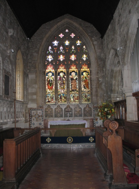 The Chancel, All Saints Church at Marsworth
