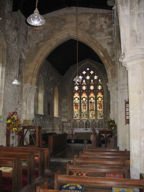 The Nave and Chancel, All Saints Church at Marsworth