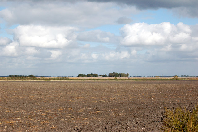 A wide fenland landscape