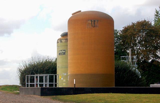 Storage tanks at Engine Farm